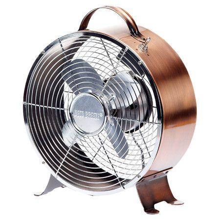 Found It At Wayfair   Retro Table Top Fan In Copper