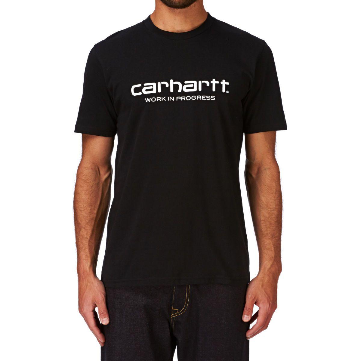 Carhartt Wip Script T-shirt - Black/white