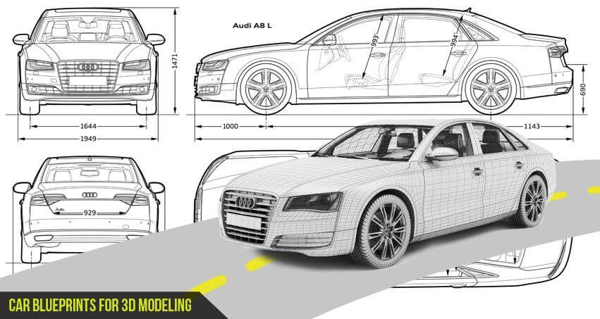 Car blueprints in this post we have added some most loved car hd car blueprints in this post we have added some most loved car hd blueprints to create 3d models with powerful 3d softwares tools like maya 3dsmax malvernweather Images