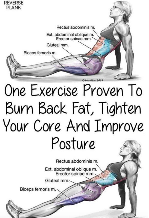 One Exercise Proven To Burn Back Fat, Tighten Your Core And Improve Posture(Video Tutorial) – Toned Chick {Für Gesundheitstipps|Rund um die Gesundheit|Wertvolle Tipps} unter Interessante-dinge.de #goodcoreexercises
