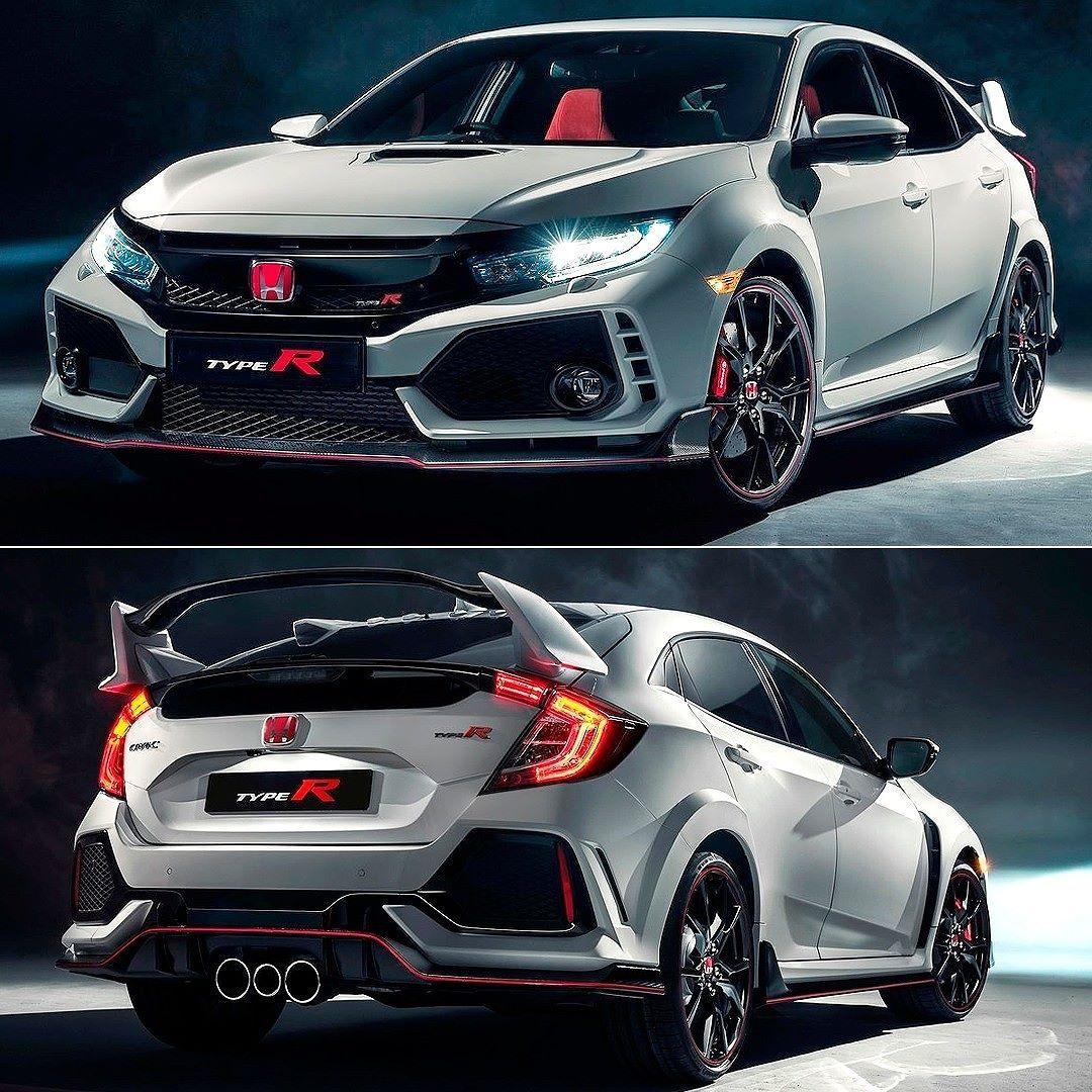 Honda Civic Type R 2018 Mais Uma Novidade Importante No Salao De Genebra A Honda Apresenta A Versao Mais Nervosa D Honda Civic Honda Civic Type R Honda Type R