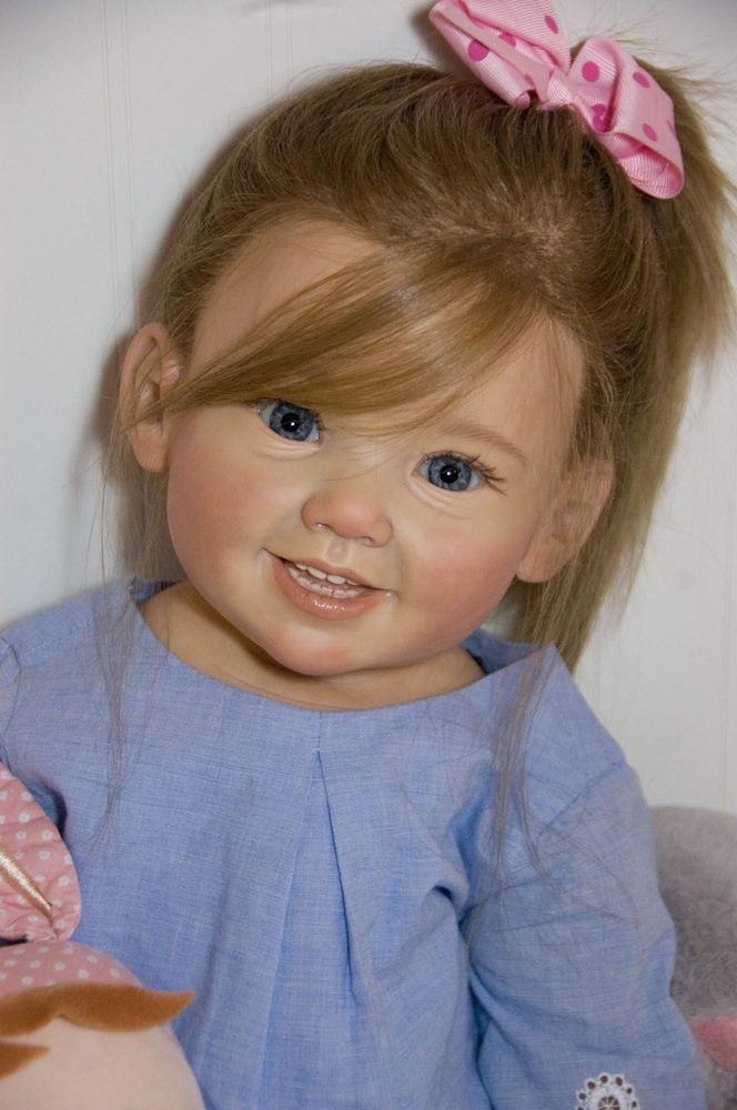a9a468ce5 Pedido personalizado cammi ou Julietta Julieta por Ping Lau Boneca Reborn  Criança Bebê Menina