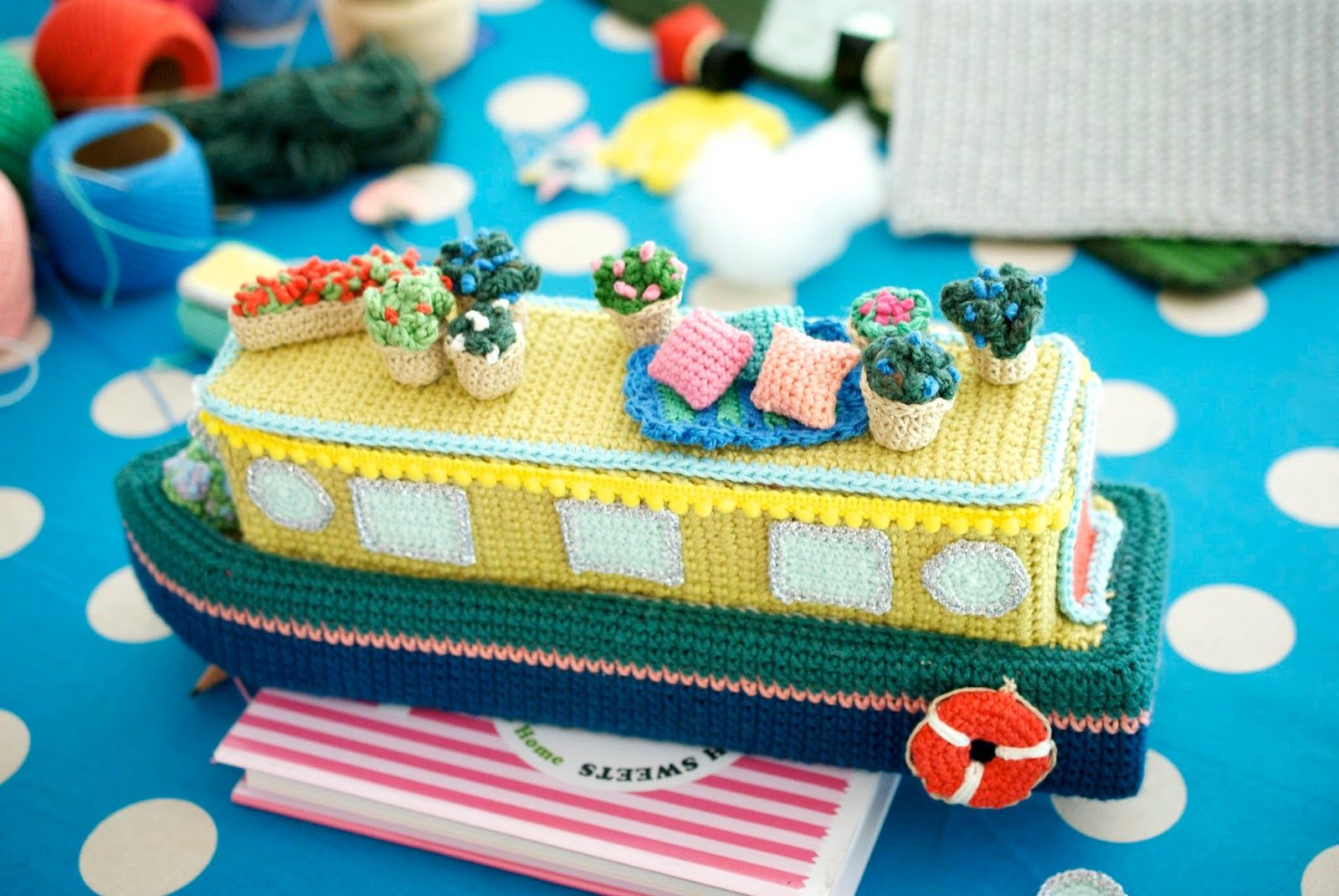 Greedy For Colour: A Sneak Peek at Let's Go Camping! Crochet Your Own  Adventure