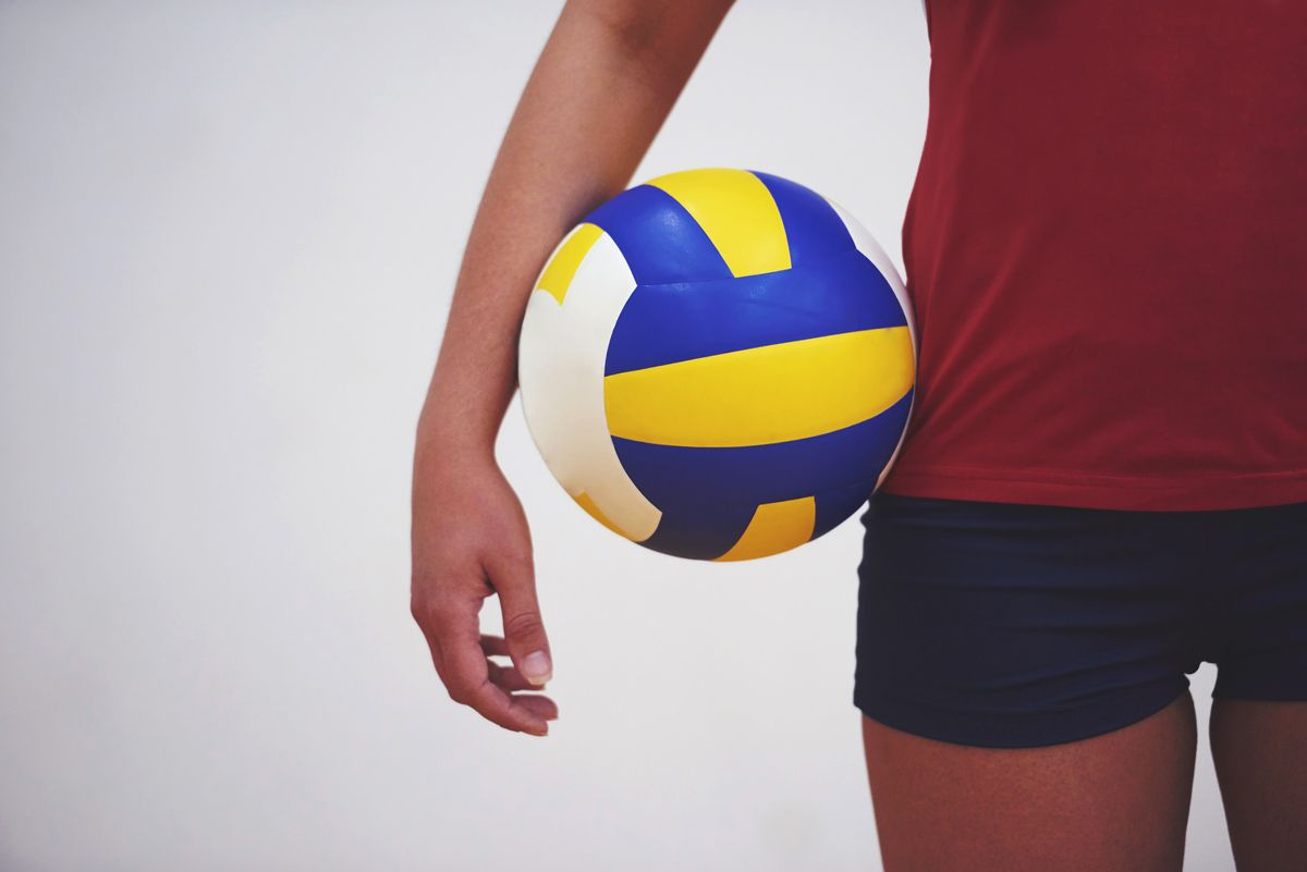 how to serve a volleyball with topspin