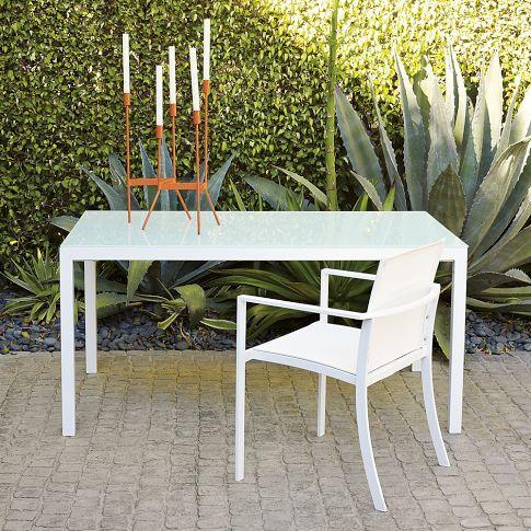 outdoor furniture barrow glasstop rectangle dining table west elm outdoor furniture92 elm