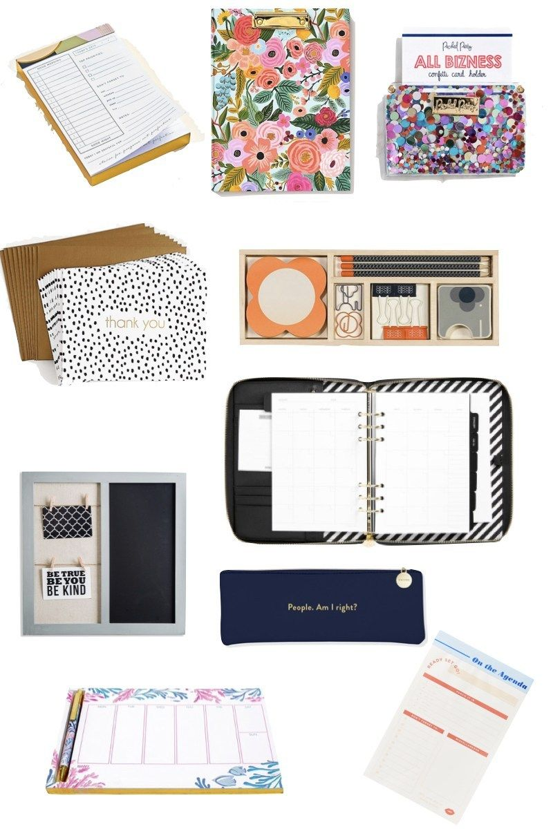 20 Important Desk Items I Use to Run My Business   Desk organizer ...