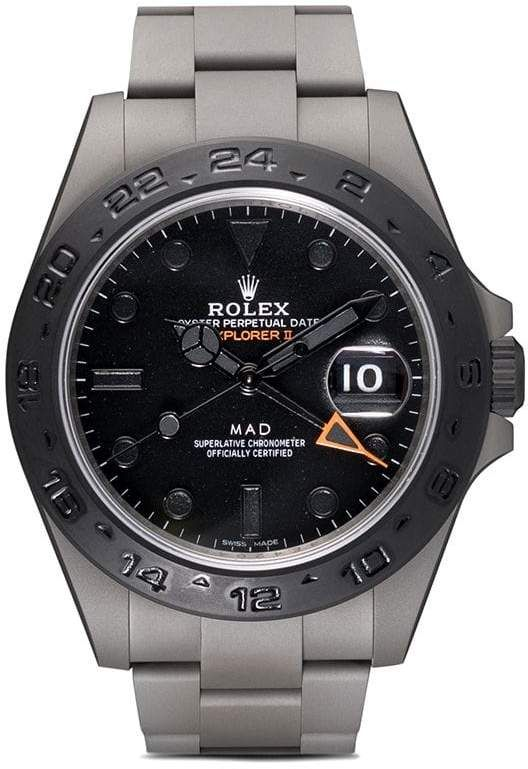 Rolex MAD Paris Black Mad Explorer II watch | Rolex explorer