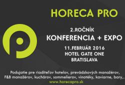 HORECA PRO 2016 | Výstavy | GASTROweb - Gastronómia očami profesionálov