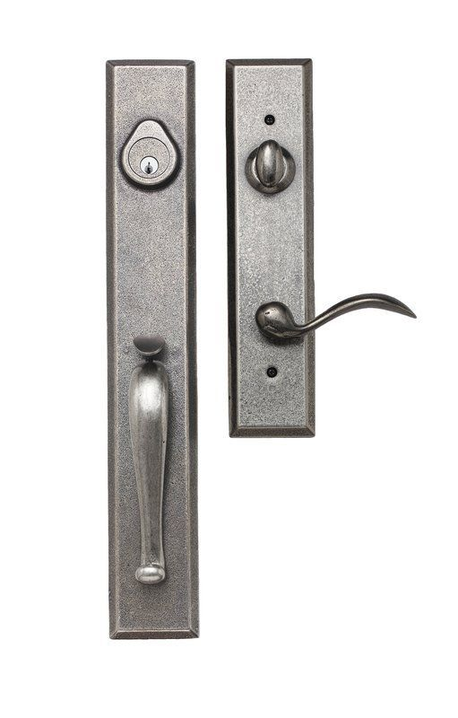 EZ Set BP 600 CD Cordoba Single Cylinder Door Handle Set From The