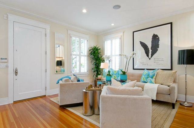 Wohnzimmer klein gemütlich einrichten Ideen Diseño interior
