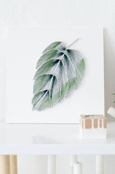 diy wandbild aus n geln und faden zum selbermachen great decoration for your walls bilder. Black Bedroom Furniture Sets. Home Design Ideas