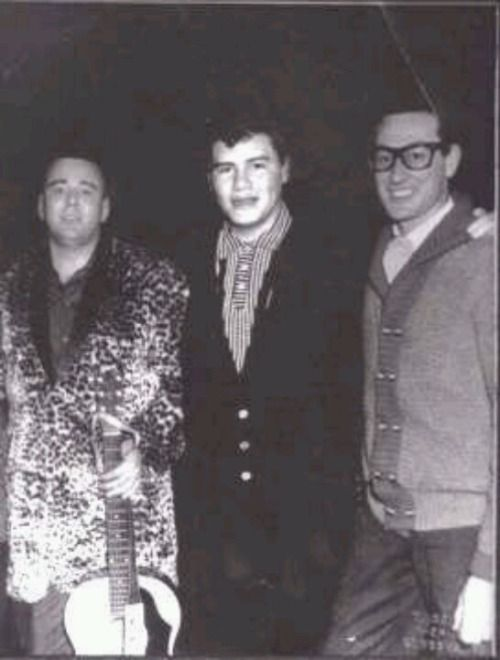 Big Bopper, Ritchie Valens and Buddy Holly...the day the music died .