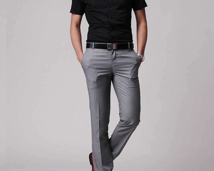 What Color Shirts Go with Grey Pants – Men's Shirts Styles | Men's ...
