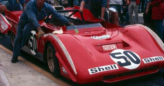 Watkins Glen Can Am Mario Andretti S Ferrari 712 I Was At This