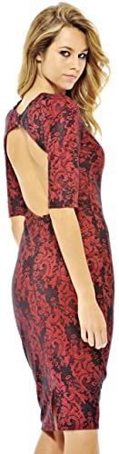 Enjoy exclusive for AX Paris Women's Bonded Lace Three Quarter Sleeve Backless Midi online #backlesscocktaildress New AX Paris Women's Bonded Lace Three Quarter Sleeve Backless Midi Womens Cocktail Dresses. [$19.95] welovetopfashion offers on top store #backlesscocktaildress