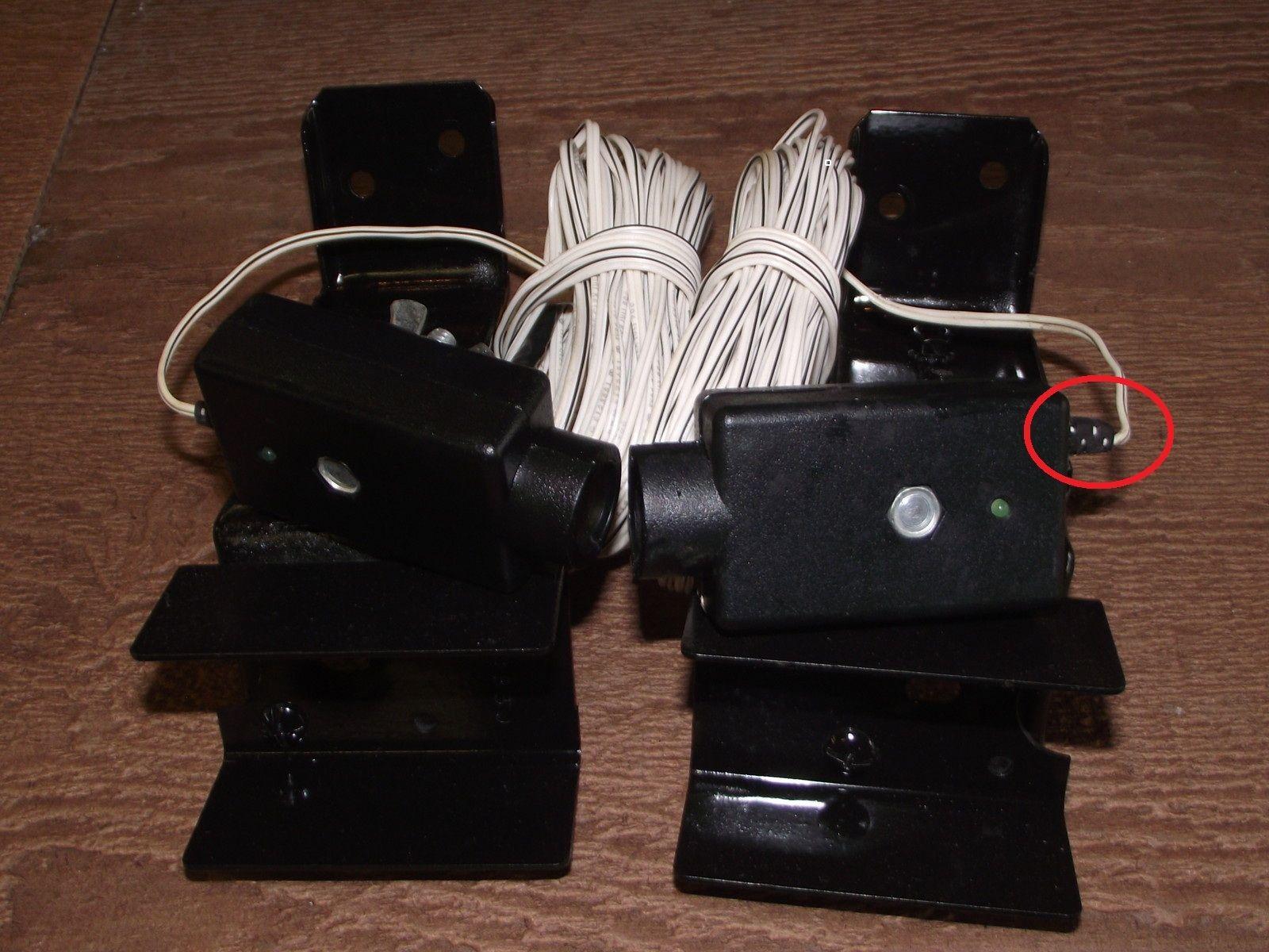 small resolution of genie garage door opener photo eye safety sensors http voteno123