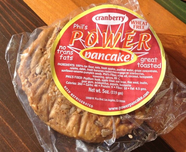Vegan Phil's Power Pancake in Wrapper Pancakes, Grape