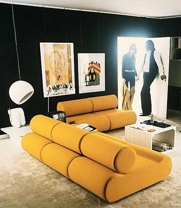 The corbi seating system by german designer klaus uredat groovy puffpuffpalace country furniture also best home design images in decor chaise sofa rh pinterest