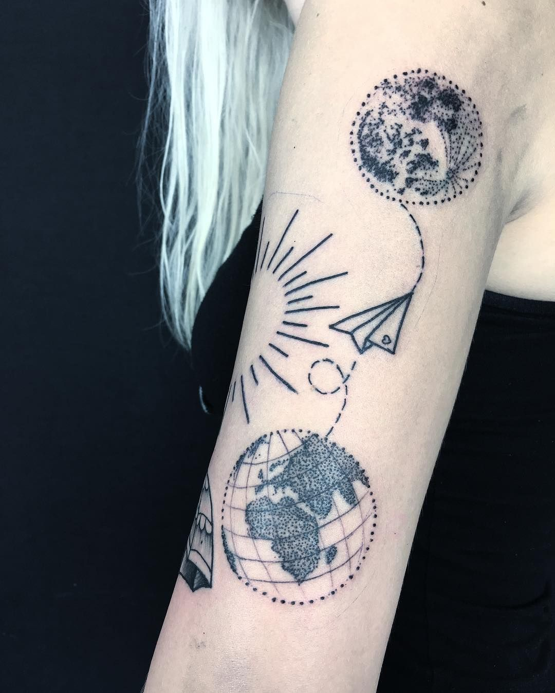 dreamy dotwork tattoos to coax out your edgy vibes just in time