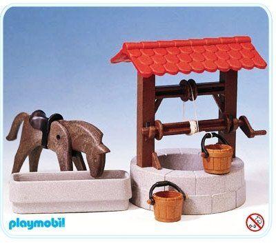 Playmobil 3295 A Ziehbrunnen 1 Playmobil Kindheit Spielzeug