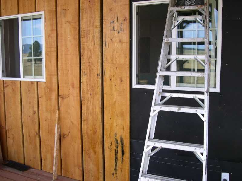 Using My Milled Wood Board And Batten Siding Board