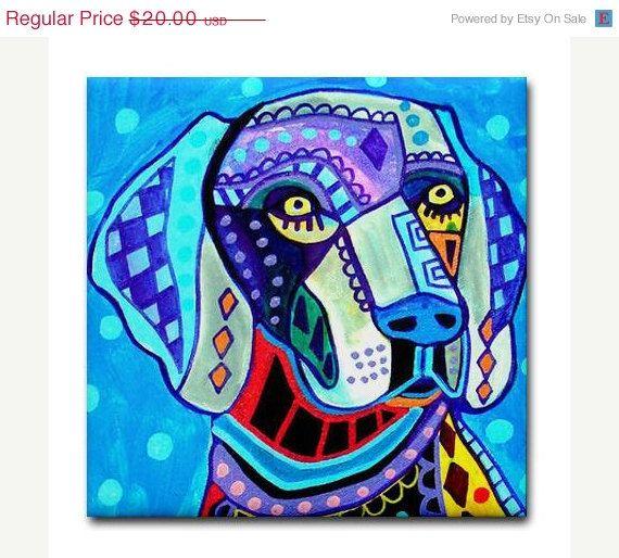 Bat Ceramic Wall Art Tile Coaster 4x4