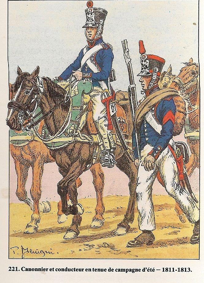 france line infantry regimental artillery conductor gunner summer tenue de route 1811 13. Black Bedroom Furniture Sets. Home Design Ideas