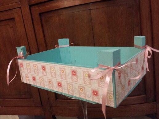 Caja fresas cajas de fresas recicladas pinterest - Cajas de fresas decoradas paso a paso ...