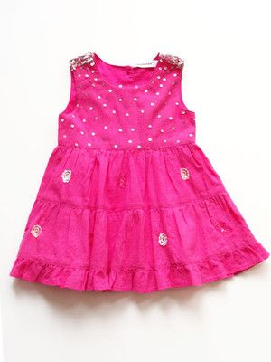 3 Pommes Baby Girls Dress