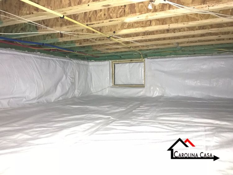 Encapsulating Your Crawl Space Is The 1 Way To Protect Your Home From Unwanted Mold Moisture And E With Images Crawlspace Crawl Space Encapsulation Protecting Your Home