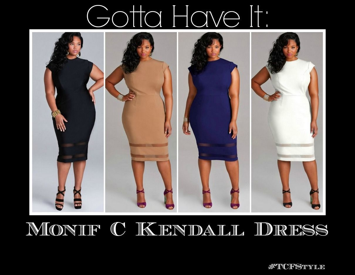 Gotta Have It: The Kendall by Monif C Plus Sizes #gottahaveit Gotta Have It: The Kendall by Monif C Plus Sizes #gottahaveit