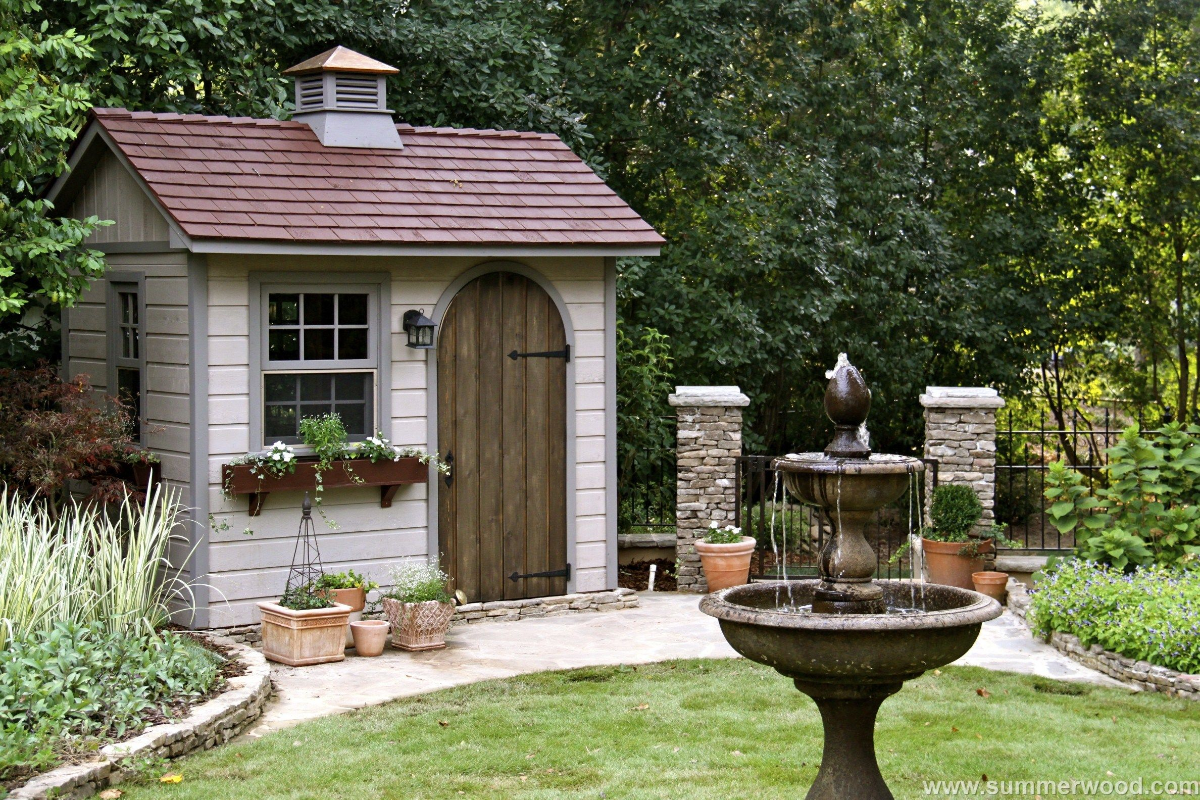 Best This Playful Palmerston Shed Will Revive Your Garden And 400 x 300