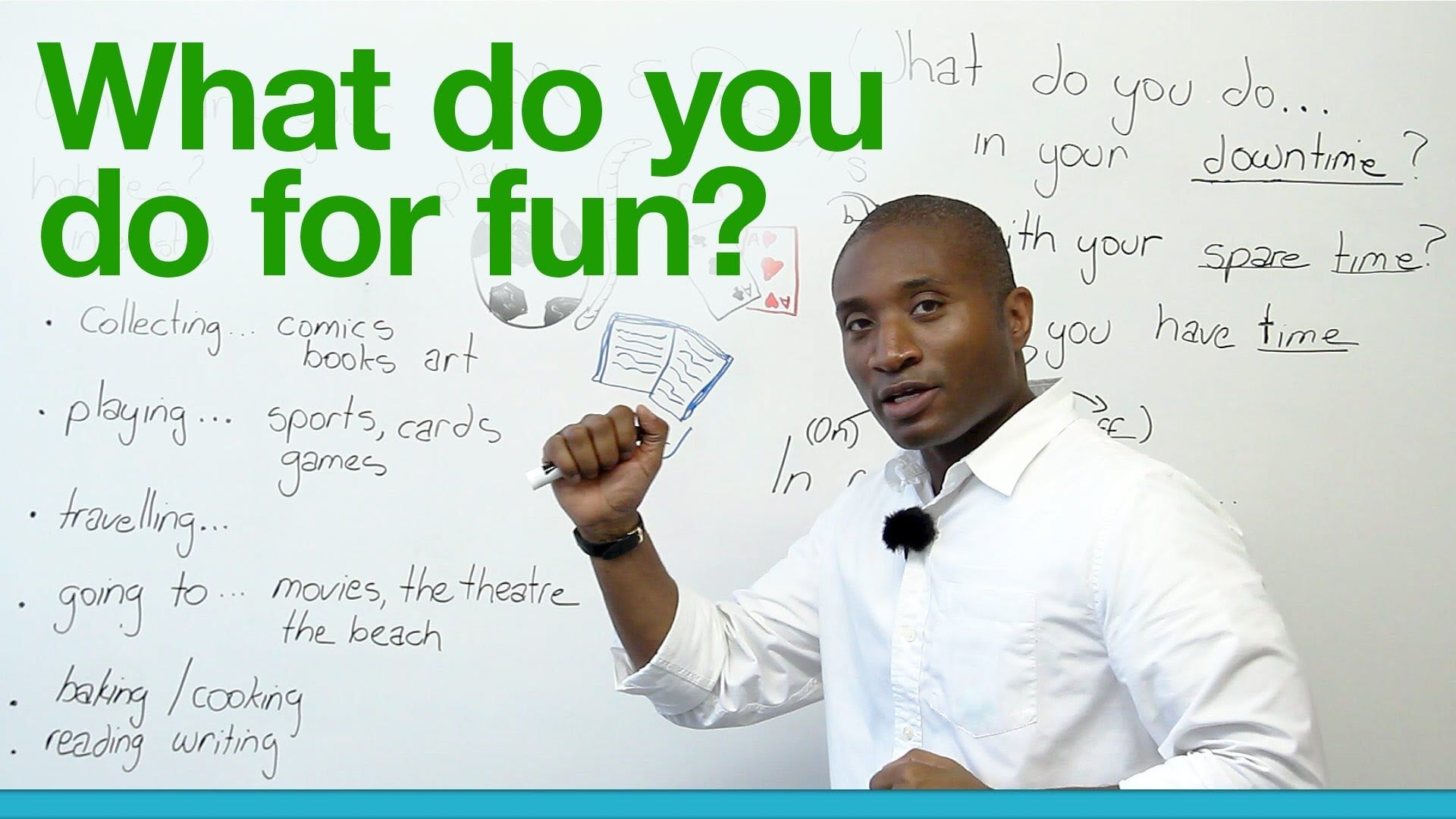 what you like to do for fun