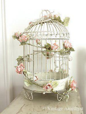 Pin Van Cathy Meadows Op Cosas Hermosas Chique Slaapkamers Vogelkooi Decoratie Shabby Chic Meubels