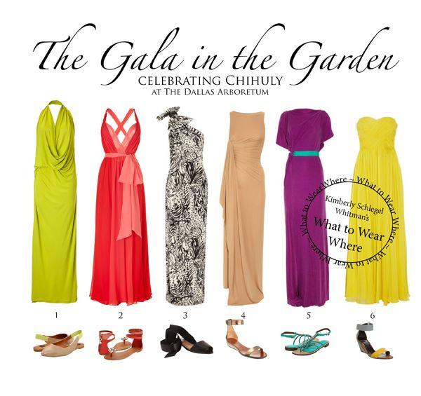 Maxi Dresses Formal Gala In Garden