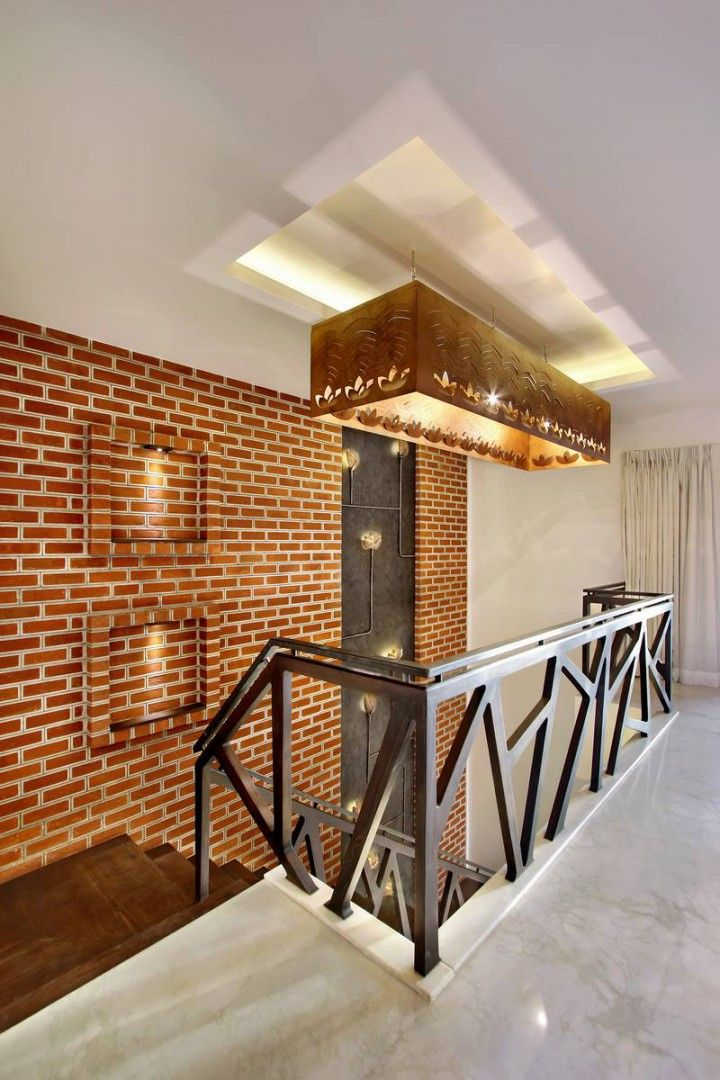 Nitya Bungalow   A+T Associates   Stair wall decor, Stairs ...