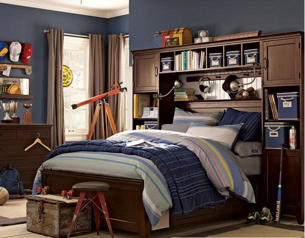 Decoracion dormitorios juveniles vintage varones buscar for Cortinas vintage dormitorio