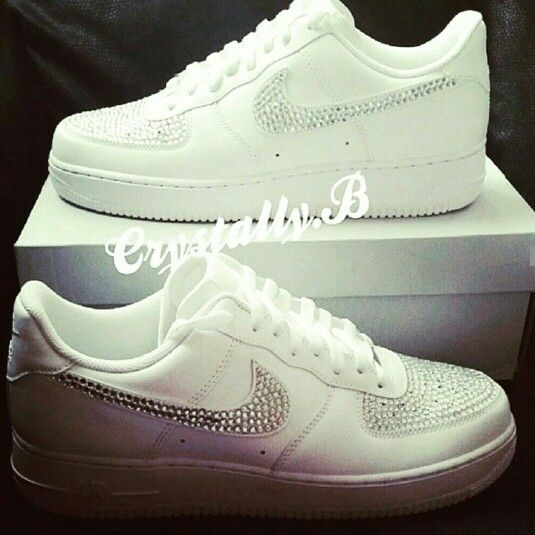 Be on trend this springNike Air Force 1 customised by