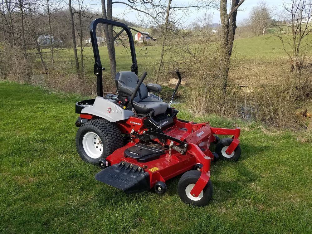 2016 Exmark 72 Lazer Z Commercial Hydro Zero Turn Lawn Mower Kohler Efi Engine Zero Turn Lawn Mowers Lawn Mower Mower