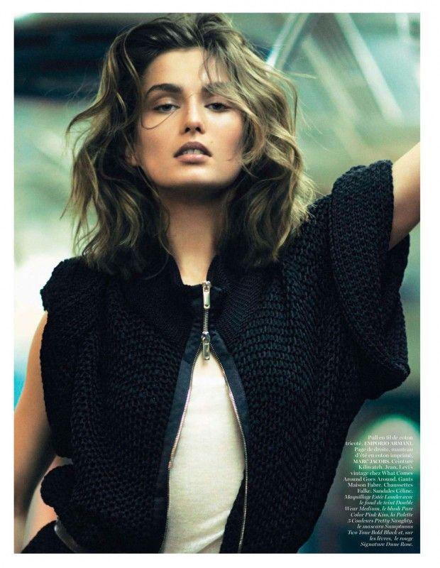 awesome VOGUE PARIS | Editorial Moda Fevereiro 2013 | Andreea Diaconu por David Sims