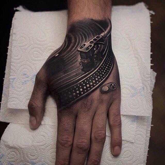 pin by leah woodward on ink pinterest dj tattoo tattoo needles and tattoo. Black Bedroom Furniture Sets. Home Design Ideas