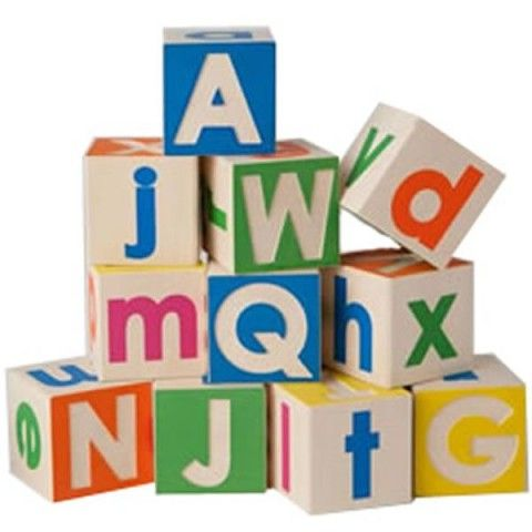 Uncle Goose Upper and Lower Case Blocks