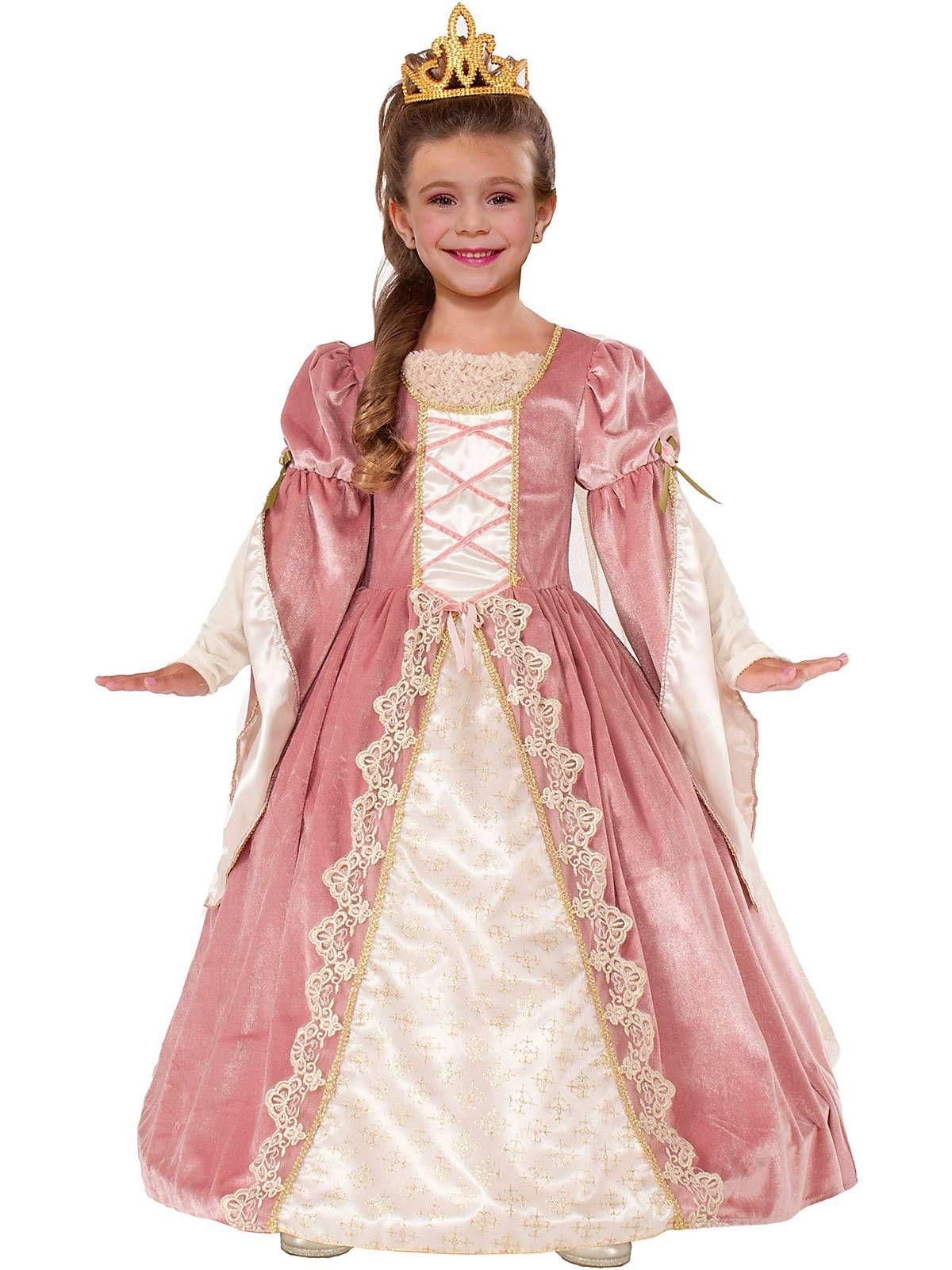 Child Victorian Rose Costume