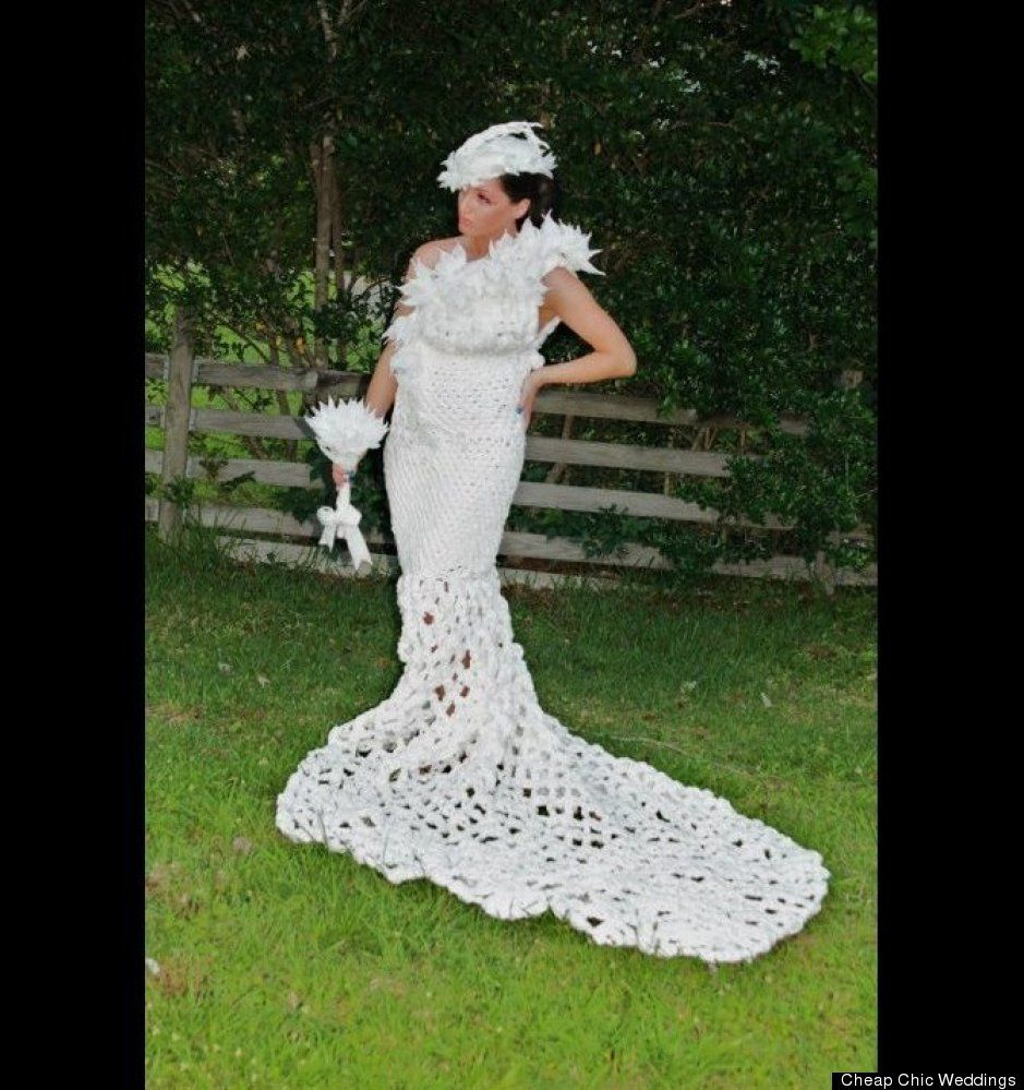PHOTOS: This Spectacular Gown Is Made From What?!   Pinterest ...