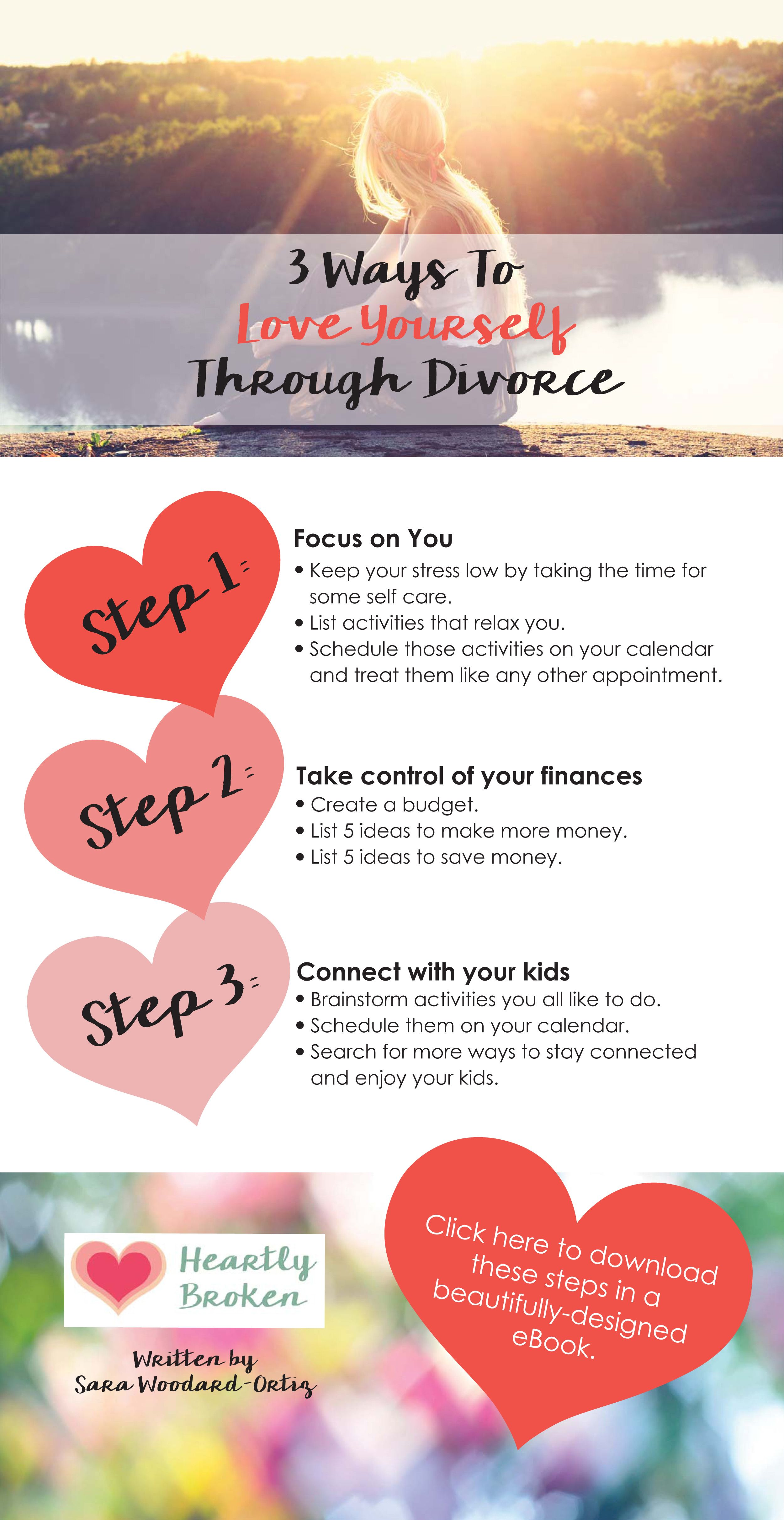 3 ways to love yourself through divorce with a link to download a 3 ways to love yourself through divorce with a link to download a more detailed solutioingenieria Choice Image