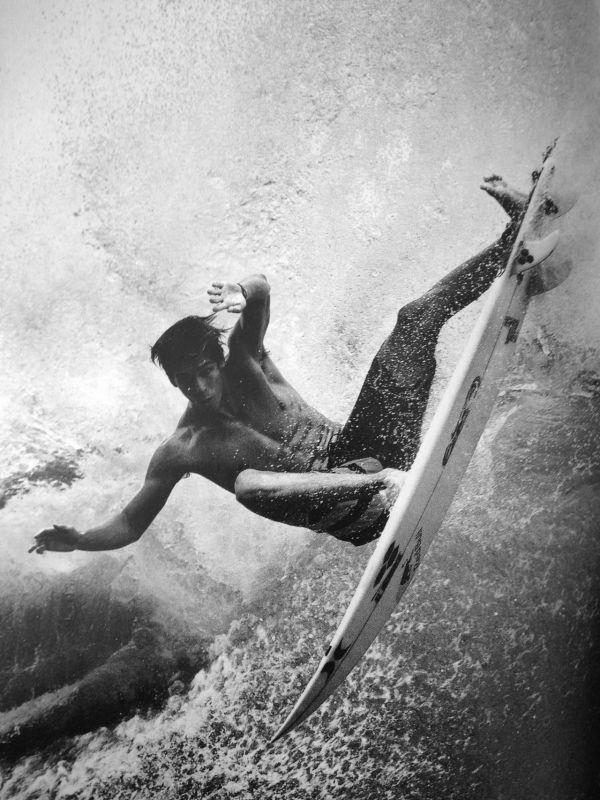 Seeing as one of the owners of HD is a former Surfwear exec and still surfs, it only seems befitting to create a Surf Board. Get it, board and surf. Surfboard. Arggghh.