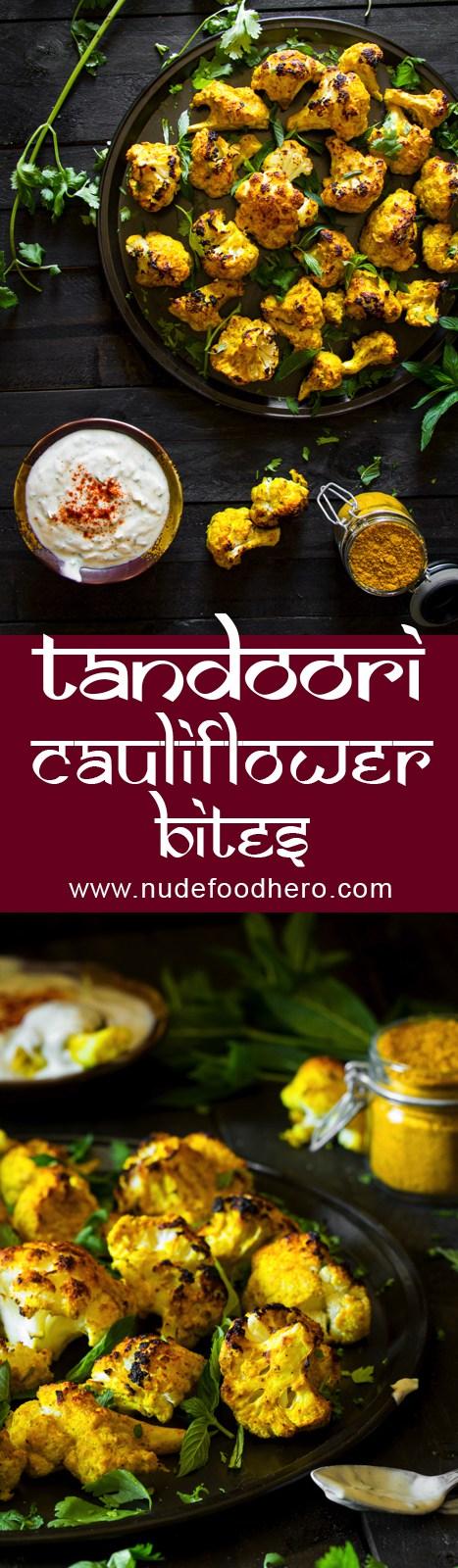 Tandoori Cauliflower-Bites