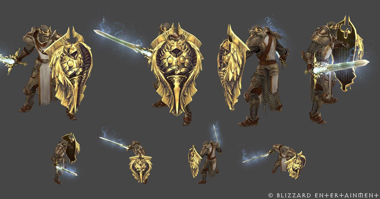 Artstation Diablo 3 Reaper Of Souls Items Vitaliy Naymushin