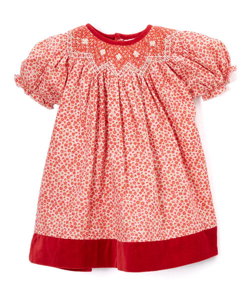 Rose Petal Bulliun Bishop Dress - Infant & Toddler