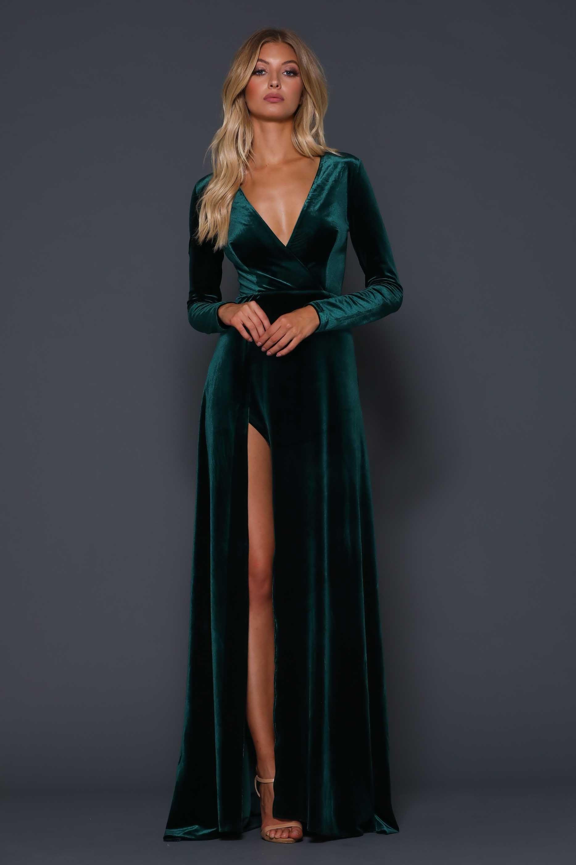 Emerald wedding dress  Fontaine Emerald Green  Cinderella WISHES in   Pinterest